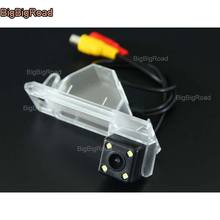 BigBigRoad For PEUGEOT 4008 2011 2012 2013 CITROEN C4 AIRCROSS / C4 SUV Car Rear View Reverse Backup Camera parking camera защита абсорбера citroen peugeot d000000104 для citroen c4 седан 2013 2016