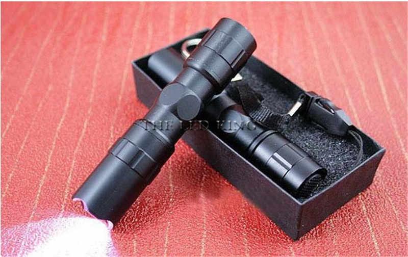 מיני פנס Q5 LED פנס לפיד כיס אור עמיד למים פנס AA סוללה עוצמה Led עבור הליכה B22