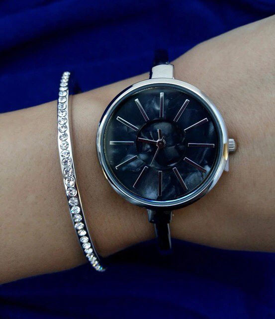 fashion women bracelet watch minimalist design face mother of pearl dial face sedef saat free shipping 95