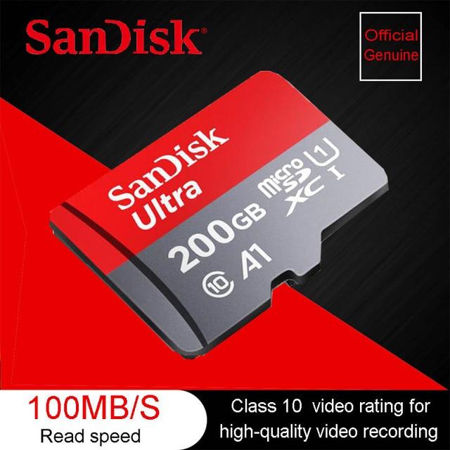 tarjeta de memoria de 200gb