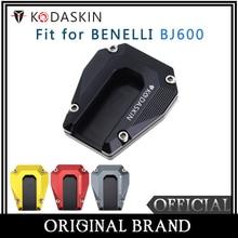 KODASKIN Motorcycle CNC Aluminum Side Stand Enlarge for BENELLI BJ600 TNT135 TNT125