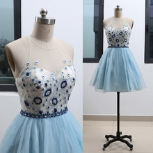 f97bef91409 Buy blue short homecoming dresses and get free shipping on ...