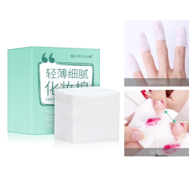 Cotton Cleansing Remover Cotton Women Facial Skin Care  5