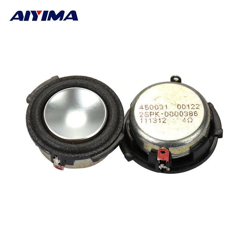 AIYIMA 2pcs Full Range Audio Speaker For