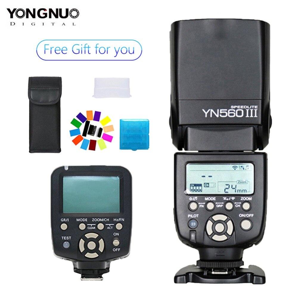 YONGNUO YN-560III YN560 III Wireless Flash Speedlite + YN-560TX LCD Flash Controller YN560 TX for Nikon D80 D90 D610 DSLR CameraYONGNUO YN-560III YN560 III Wireless Flash Speedlite + YN-560TX LCD Flash Controller YN560 TX for Nikon D80 D90 D610 DSLR Camera