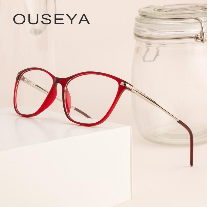 Tr90 women glasses clear noble fashion transparent grade optical eye glasses frames for women #cd0601
