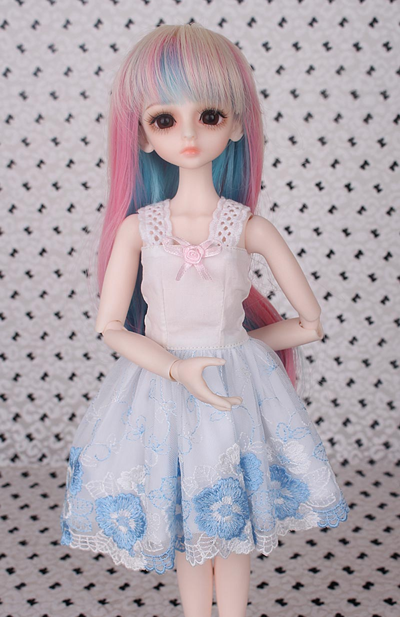 Free Shipping 1/3 1/4 1/6  BJD Doll SD Clothes Doll Dress For Girls Birthday Gift цена и фото