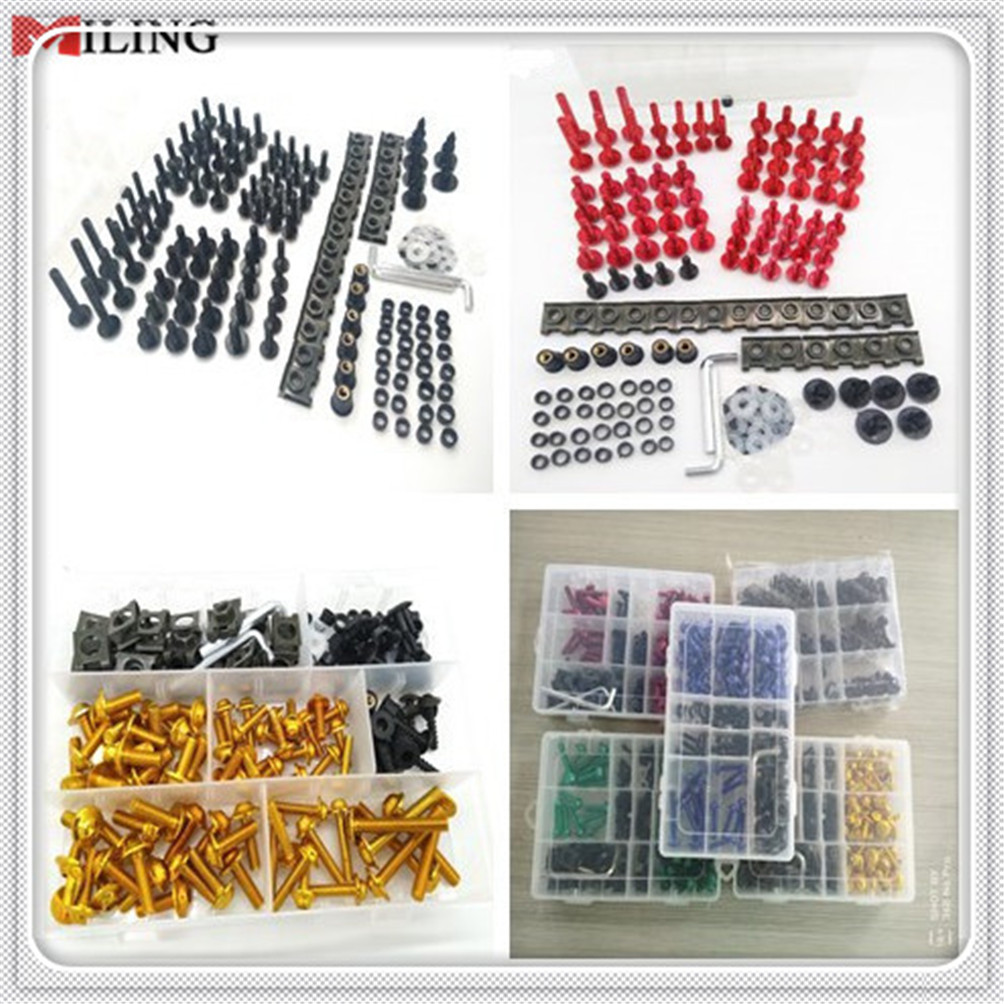 Universal accessories Motorbike Motorcycle Screws Pike Bolts nuts Fairing FOR KTM 65SX XC 85SX XC 105SX XC 125EXC 125 Husaberg Nuts & Bolts     - title=