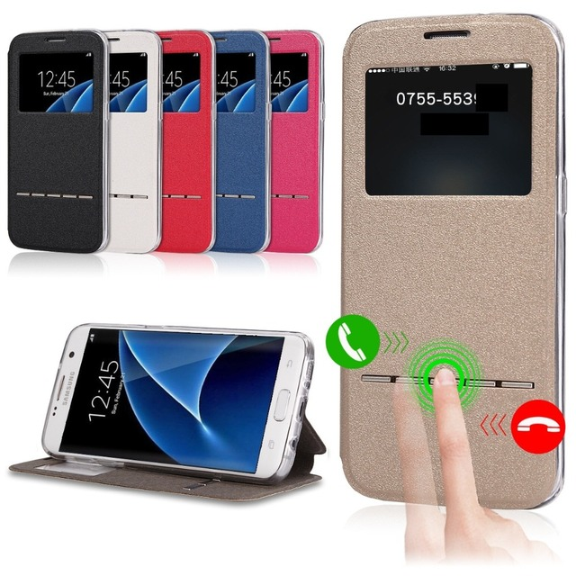 new product f5b27 dca96 US $6.49 35% OFF|Aliexpress.com : Buy Case For Samsung Galaxy Note 2/Note  3/Note 4/Note 5/Note 8 Smart Flip Cover Window view Soft protect phone Case  ...