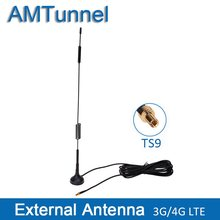 3G 4G Antenna TS9 mimo 4G LTE antenna ZTE 12dBi hotspot antenna for Huawei Router 4G 3G wifi router(China)