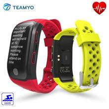 Teamyo S908 GPS Smart Band IP68 Professional Waterproof Heart rate monitor Smart Fitness Bracelet multiple movement patterns