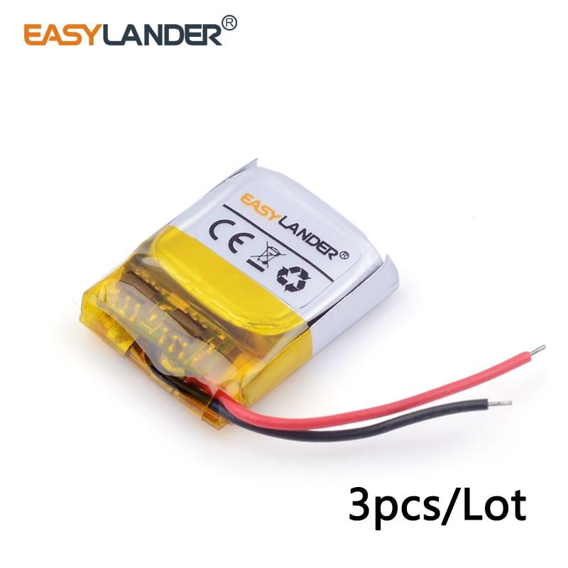 3 шт./лот 3.7 В литий-ионный полимерный аккумулятор 401515 50 мАч для MP3/4/5 <font><b>Bluetooth</b></font> домофон <font><b>battery</b></font> <font><b>Monitor</b></font> 041515