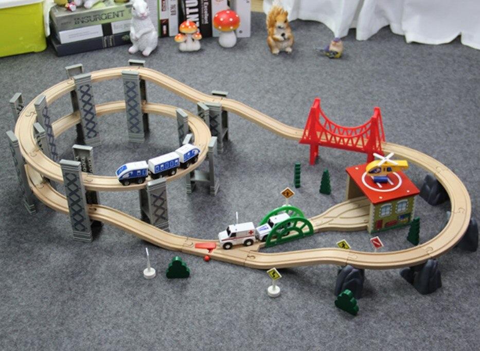 Diecast 118 Wooden Track Boys Toys Oyuncak Araba Car Toy Thom Train Set Kids Toys For Children Back To The Future Brio Train Aliexpresscom