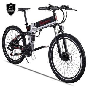 Image 5 - Новый электрический велосипед 48 в 500 Вт, вспомогательный горный велосипед, литиевый электрический велосипед, мопед, электрический велосипед, электровелосипед, электрический велосипед elec