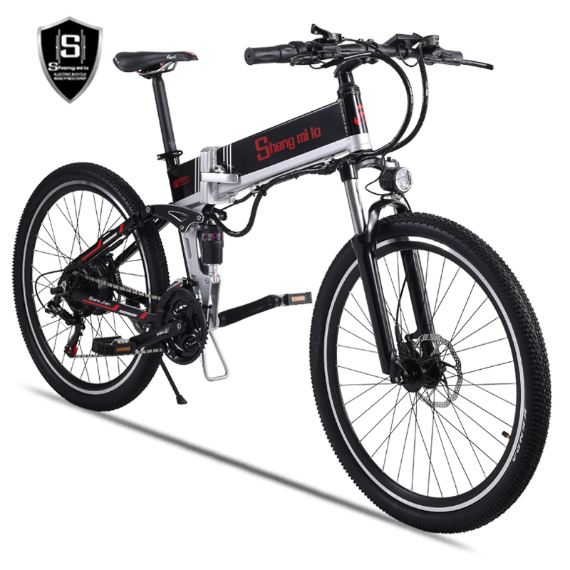 Image 5 - New electric bicycle 48V500W assisted mountain bicycle lithium electric bicycle Moped electric bike  ebike electric bicycle elecElectric Bicycle   -