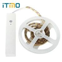 ITimo LED Strips LED Lamp PIR Motion Senson DC 5V 60 LEDs Home Lighting Wardrobe Cabinet Lamp Flexible Lamp Belts Night Light