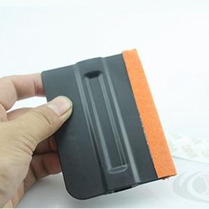 7*10cm Abrasion Resistant Vinyl Plastic Car Squeegee Decal Wrap Applicator Soft Felt Scraper MO-143P