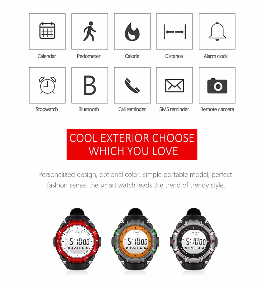 2017 New SW08 Smart Watch Bluetooth 4.0 Smartwatch LED 1.3 Inch Screen Health Tracker Calendar Waterproof Watch For Android IOS (6)