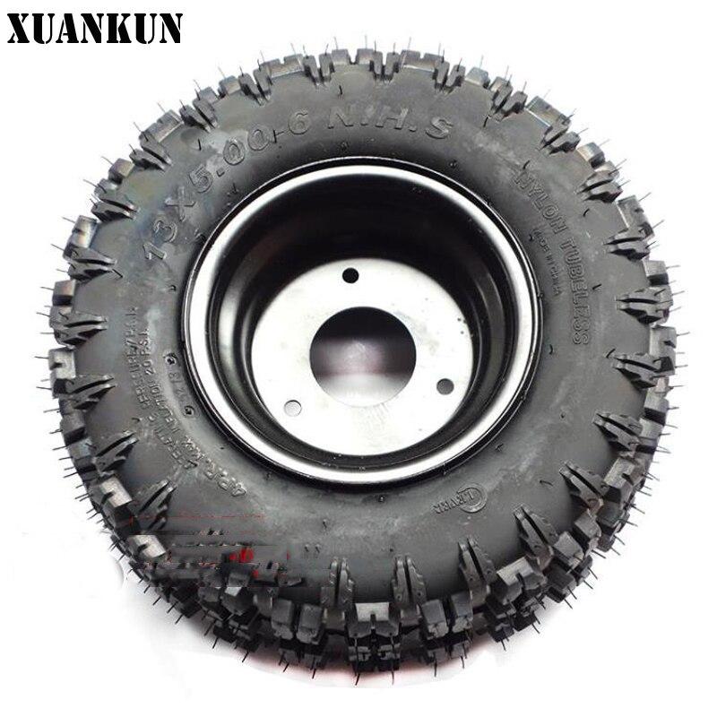 xuankun small cc kart  wheeled atv modified   tires     road tire