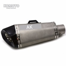 High Quality Motorcycle Akrapovic Exhaust Muffler escape pipe For For HONDA CBR600RR 2007 2014