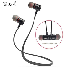 M&J Wireless Bluetooth Earphone Earbuds Noise Reduction Sweatproof Stereo Earphones With Microphone For IOS Andriod PK A920BL