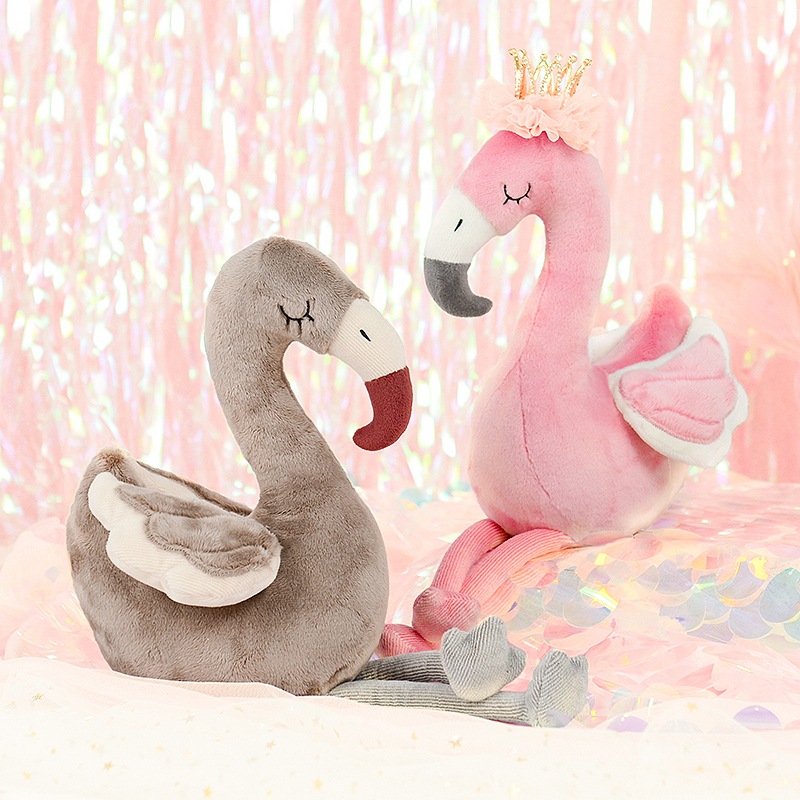 26cm Flamingos Metoo Doll Kawaii Stuffed Plush Animals Cartoon Kids Toys for Girls Children Baby Birthday Christmas Gift martha plush toy stuffed doll gift christmas gift 26cm
