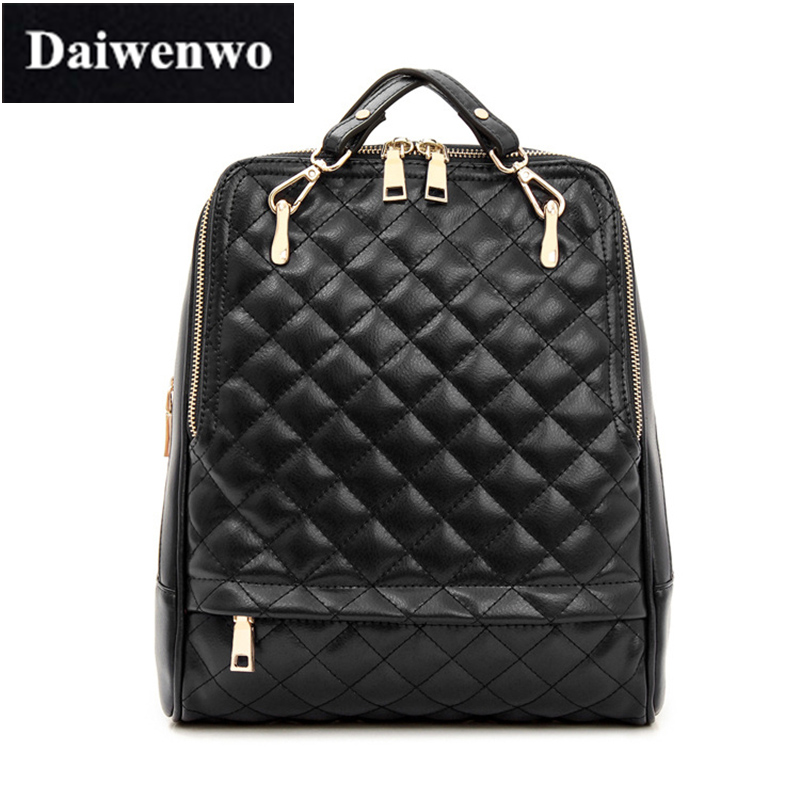 Leather Quilted Backpack | Os Backpacks : leather quilted backpack - Adamdwight.com