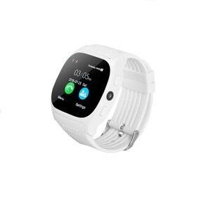 Image 2 - Stepfly reloj inteligente T8 con Bluetooth, dispositivo con cámara, Facebook, Whatsapp, compatible con tarjeta SIM, TF, llamadas, teléfono Android, PK DZ09 Q18