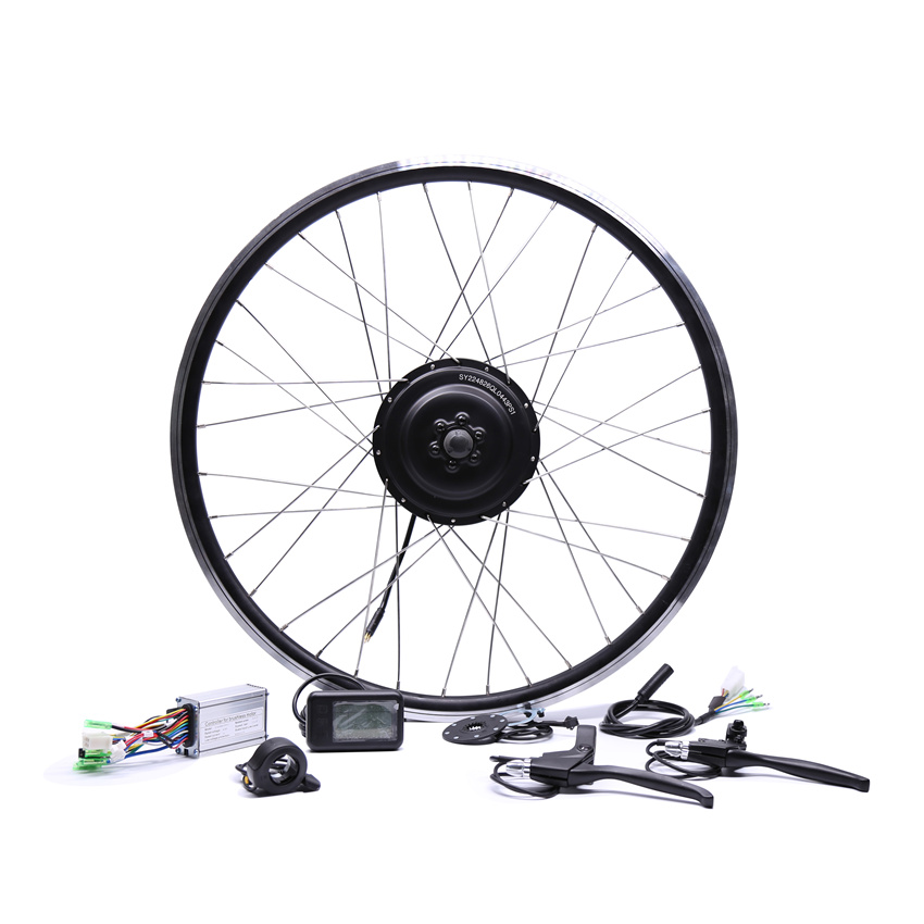 2017 Electric Bicycle Bicicleta Eletrica 36v350w Front/rear Electric Bike Conversion Kit Brushless Hub Motors 20'' 26'' 28'' 2017 electric bicycle 36v250w bafang front rear electric bike conversion kit brushless hub motors 20 26 28 diy motor wheel