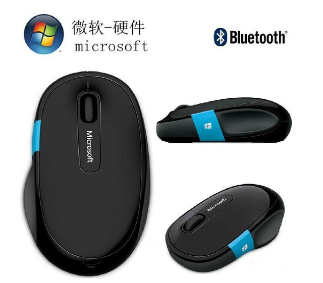 53bfa78835d Microsoft wireless Bluetooth Mouse Gamer Bluetooth Computer Gaming Mouse  Sculpt for Android Mac win8 Microsoft Sculpt