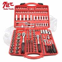 171pcs Wrench Tool Set with Spanner 1/2''dr, 3/8''1/4Dr Socket Set