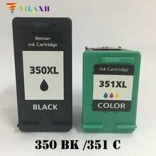 For HP 350 351 Ink Cartridge HP350 XL Photosmart C4200 C4480 C4580 C4380 C4400 C5280 C5200 C5240 C5250 C5270 C5275
