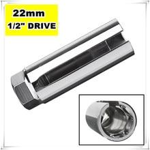 22mm 1/2″ Drive Lambda Oxygen Sensor Removal Socket Wrench Tool + Hole Window Wire