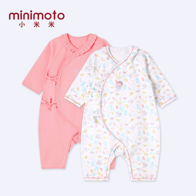 69da45514efdb US $19.71 28% OFF|Minimoto Long Sleeve Kimono Baby Jumpsuit Lace Kids Ropa  Bebe Baby Girl Clothes Rompers Toddler Playsuit Angel Cotton Clothing-in ...