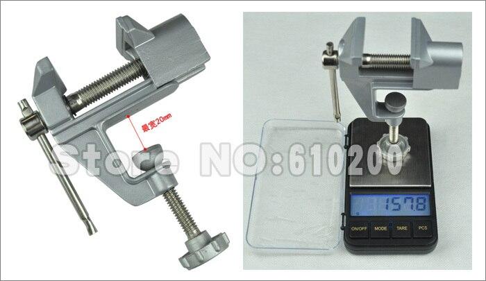 Free shipping Mini Table Vice/bench vice Fixture Multi-functional DIY PCB Fixed Repair Tools Aluminium Alloy