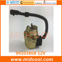 Miễn phí vận chuyển Nhiên solenoid 04103812 04103808 12 V cho F3L F3M F4L F4M 1011 2011 Động Cơ