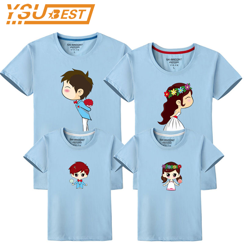 2018 Summer T-Shirt Family Clothing Mother/Father/Kid T Shirt Family Look Set Father Mother Daughter Matching Outfits Clothes lerro definition funny italian family name unisex t shirt