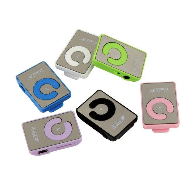 Carprie Fashion Mini Clip Cool Design No Screen Mp3 Player Music Support Micro 32 Gb Sd