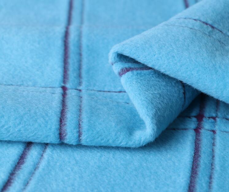 3 couleurs épais treillis cachemire laine tissu manteau partie impression super hollandais sequin conception collège tissu telas A309