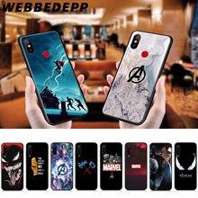 WEBBEDEPP Marvel Superheroes Veom Soft Case for Xiaomi Mi 9T 9 8 SE 6 A1 A2 A3 L