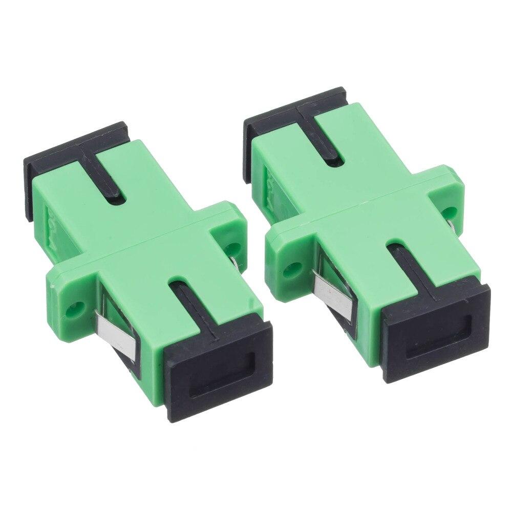 200 Pieces SC APC SM Single Mode Fiber Optical Adapter Free shipping200 Pieces SC APC SM Single Mode Fiber Optical Adapter Free shipping