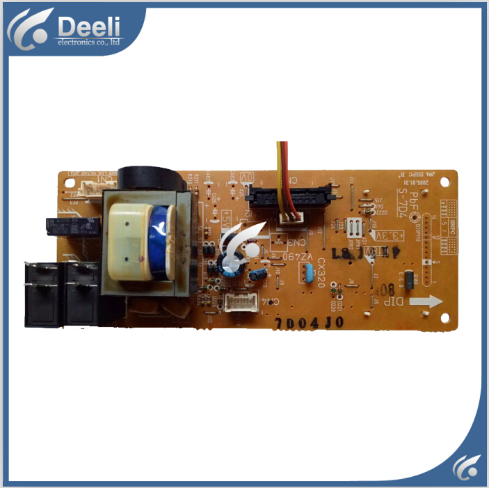 95% New used original for Microwave Oven computer board NN-GT547M NN-GT546W F62607D40AP S-7D4 mainboard original lcd 40z120a runtka720wjqz jsi 401403a almost new used disassemble