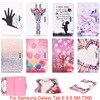 For Samsung Galaxy Tab E 9 6 T560 T561 SM T560 Case Fashion Cartoon Pattern Folio