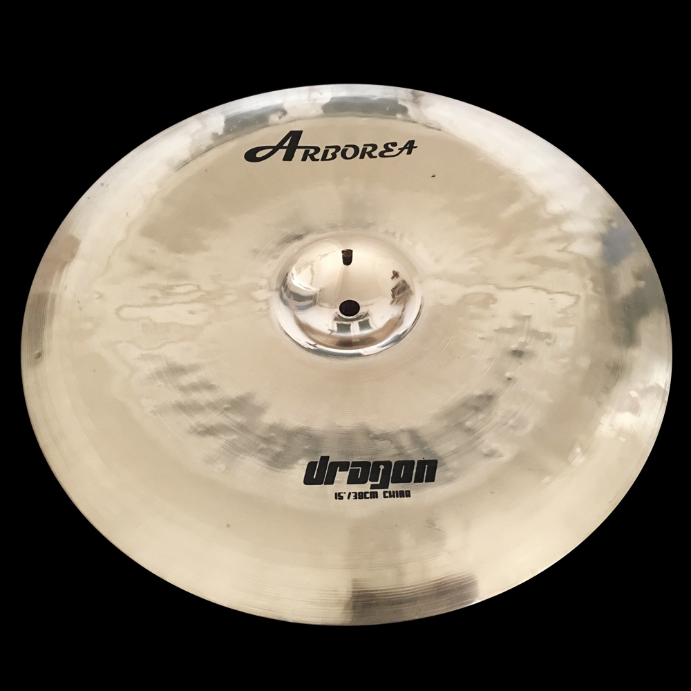 B20 cymbal, 100% handmade DRAGON 15