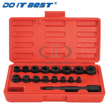 VEHTRKACNTOL 17pcs/set Car Manual Transmission Gearbox Clutch Plate Install Wrench Socket Clutch Plate Correction tool