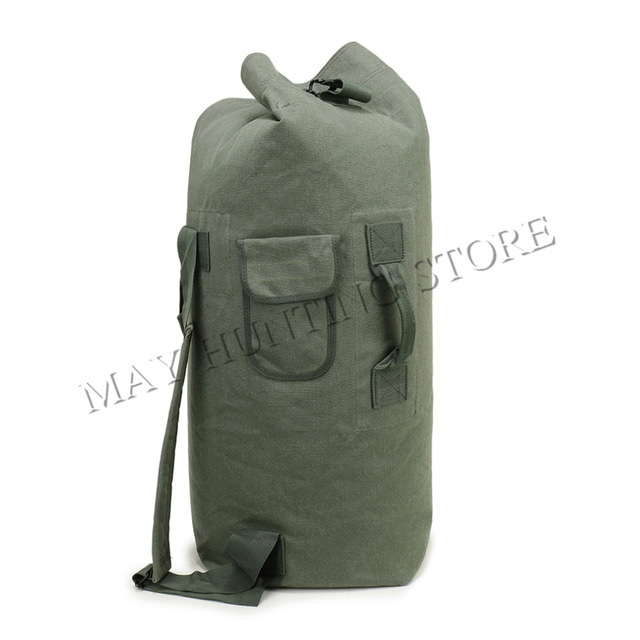 ed12d9a2c Outdoor Travel Luggage Army Bag Canvas Hiking Hunting Backpack Camping  Tactical Rucksack Men Military Backpack mochila