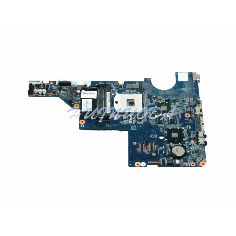 NOKOTION Laptop Motherboard for HP Pavilion G62 615578-001 DA0AX1MB6H0 HM55 DDR3 Main Board full tested nokotion 687229 001 qcl51 la 8712p laptop motherboard for hp pavilion m6 m6 1000 hd7670m ddr3 mainboard full tested