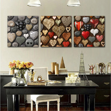 Wall Art Pictures HD Prints On Canvas Home Decor As Gift Wall Decor For Living Room Colorful Strange Style New Hearts Art Love