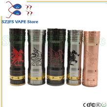 sob mod Mechanical Mech Mod 26650 Battery Body 30mm Vaporizer Vapor Vape Pen Nemesis King Tube Stainless Stee vs jsld txw 80 w