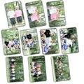 kpop Bangtan Boys bts crystal card bus card stickers affixed a set of 10 k-pop bts Cards Postcard Poster LOMO PhotoCard Album